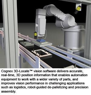 Cognex Offers 3D Vision Software - Vision Online