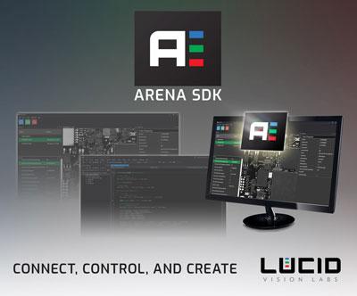 LUCID Releases New GenICam3-Based Arena SDK L    - Vision Online